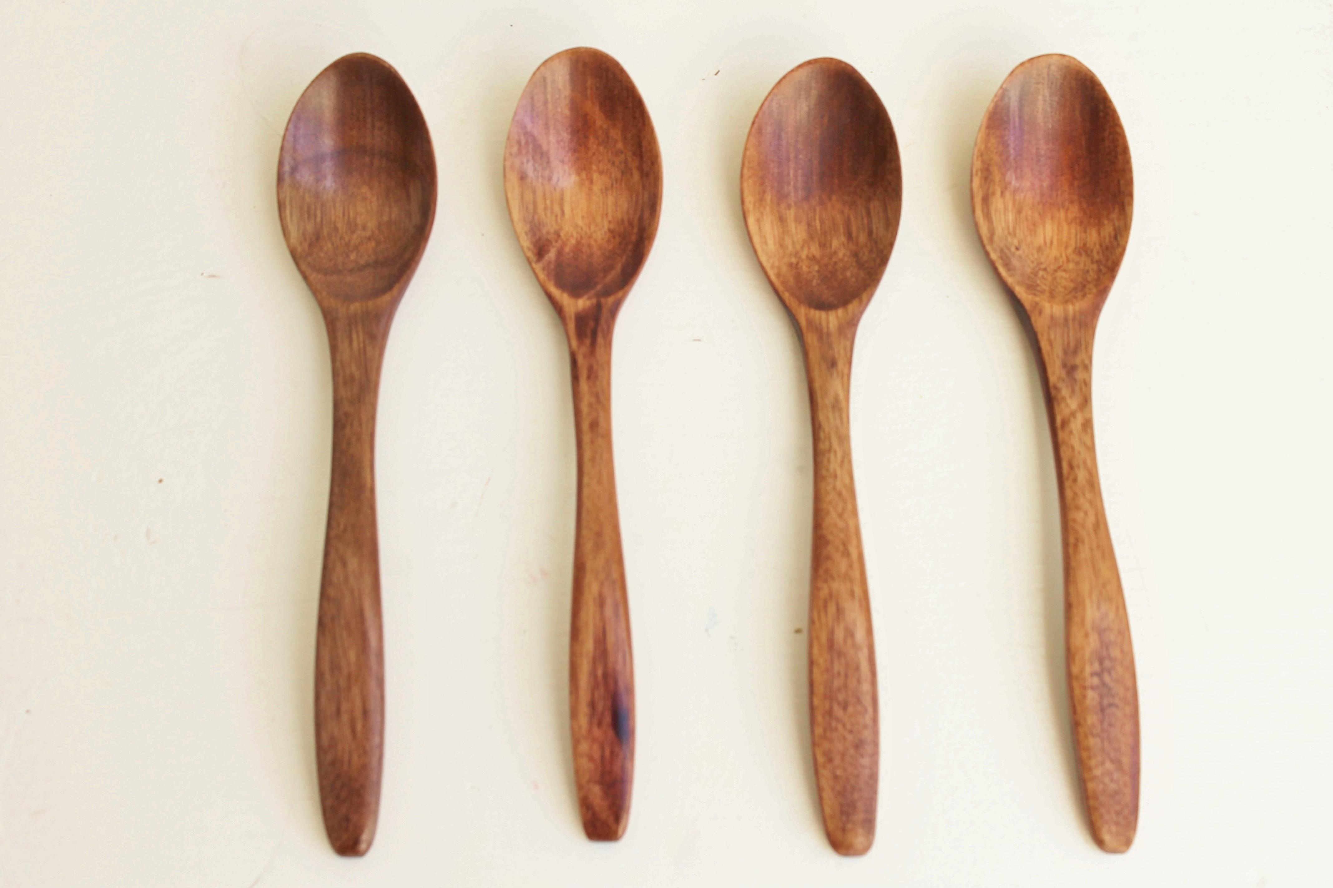 houten lepeltjes
