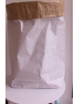opberg zak van papier.